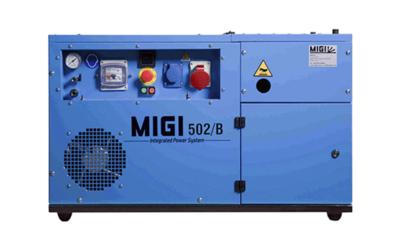 Generador y compresor MIGI 502 B