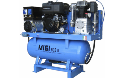 Generador y compresor MIGI 602 D