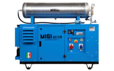 Generador y compresor MIGI 602 DM
