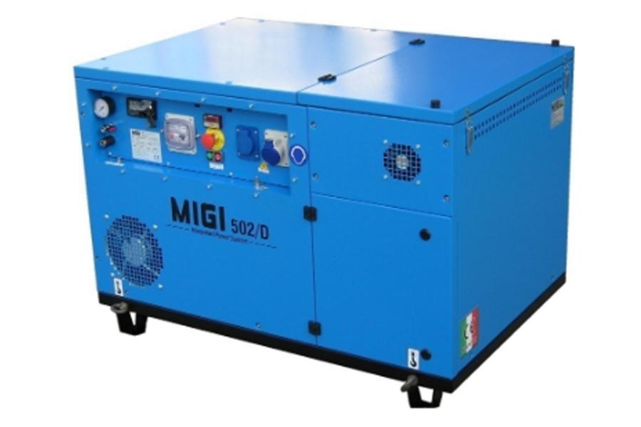 Generador y compresor MIGI 502 D