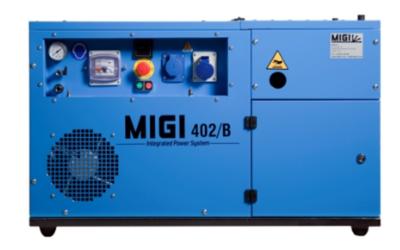 Generador y compresor MIGI 402 B
