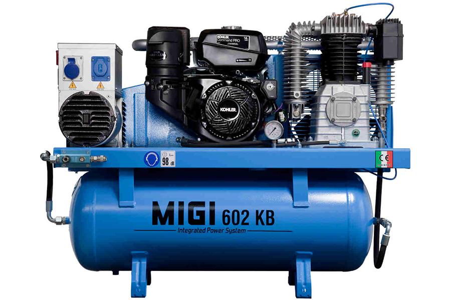 Generador y compresor MIGI 602 KB