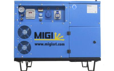 Generador y compresor MIGI 302 KD